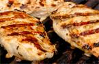 Barbecue chicken breast